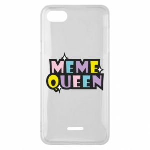 Phone case for Xiaomi Redmi 6A Meme queen