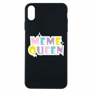 Phone case for iPhone Xs Max Meme queen