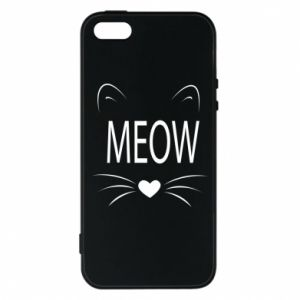 iPhone 5/5S/SE Case Fluffy Meow