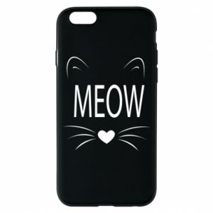 iPhone 6/6S Case Fluffy Meow