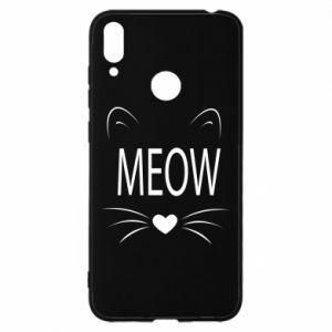 Huawei Y7 2019 Case Fluffy Meow