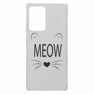 Samsung Note 20 Ultra Case Fluffy Meow