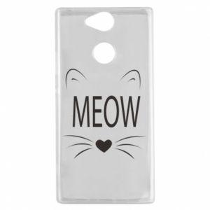 Sony Xperia XA2 Case Fluffy Meow