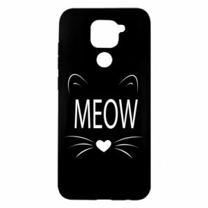 Xiaomi Redmi Note 9 / Redmi 10X case % print% Fluffy Meow