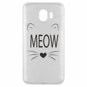 Etui na Samsung J4 Meow Fluffy