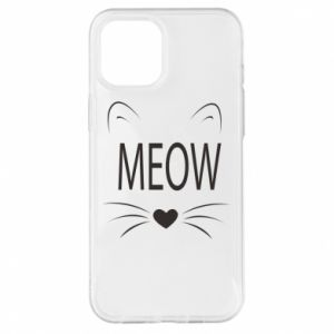 iPhone 12 Pro Max Case Fluffy Meow