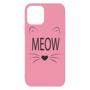iPhone 12/12 Pro Case Fluffy Meow