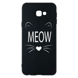 Samsung J4 Plus 2018 Case Fluffy Meow