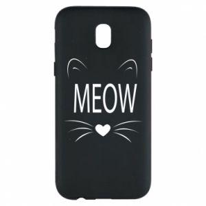 Etui na Samsung J5 2017 Meow Fluffy
