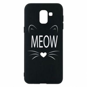 Etui na Samsung J6 Meow Fluffy