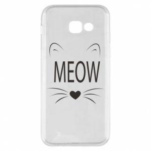 Etui na Samsung A5 2017 Meow Fluffy