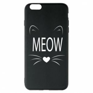iPhone 6 Plus/6S Plus Case Fluffy Meow