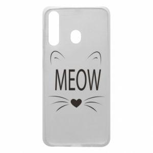 Etui na Samsung A60 Meow Fluffy