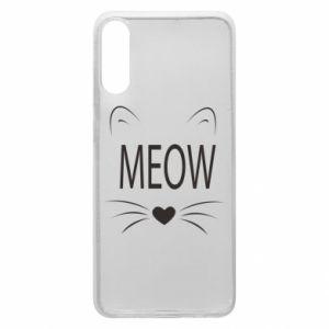 Etui na Samsung A70 Meow Fluffy