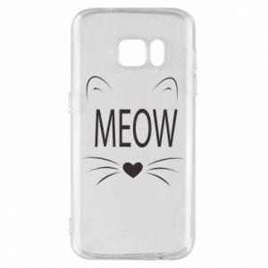 Etui na Samsung S7 Meow Fluffy