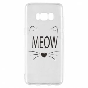Etui na Samsung S8 Meow Fluffy