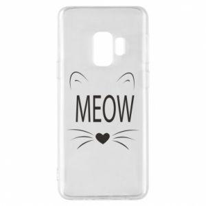 Etui na Samsung S9 Meow Fluffy