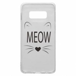 Etui na Samsung S10e Meow Fluffy