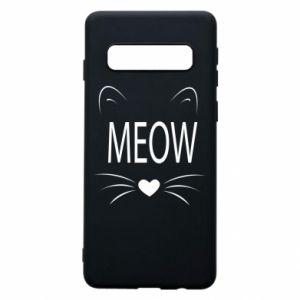 Etui na Samsung S10 Meow Fluffy