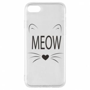iPhone 7 Case Fluffy Meow