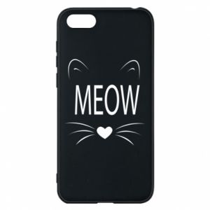Etui na Huawei Y5 2018 Meow Fluffy