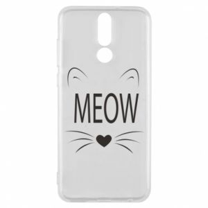 Huawei Mate 10 Lite Case Fluffy Meow