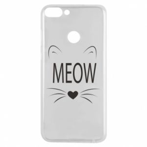 Huawei P Smart Case Fluffy Meow