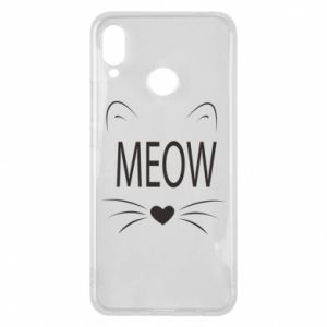 Huawei P Smart Plus Case Fluffy Meow