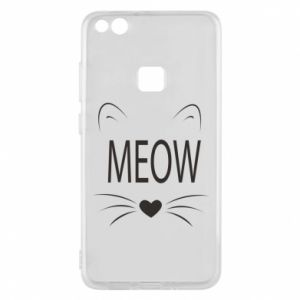 Etui na Huawei P10 Lite Meow Fluffy