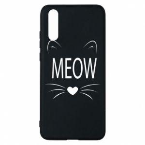 Etui na Huawei P20 Meow Fluffy