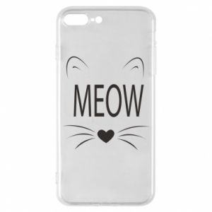 iPhone 7 Plus case Fluffy Meow