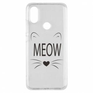 Etui na Xiaomi Mi A2 Meow Fluffy