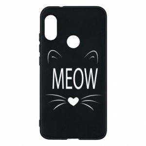 Etui na Mi A2 Lite Meow Fluffy