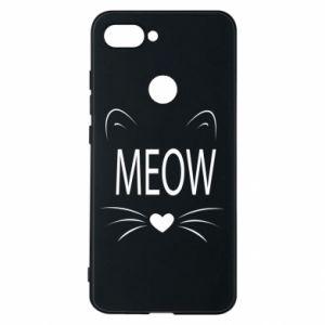 Etui na Xiaomi Mi8 Lite Meow Fluffy