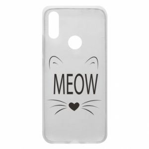 Xiaomi Redmi 7 Case Fluffy Meow