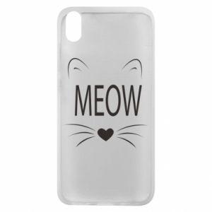 Etui na Xiaomi Redmi 7A Meow Fluffy