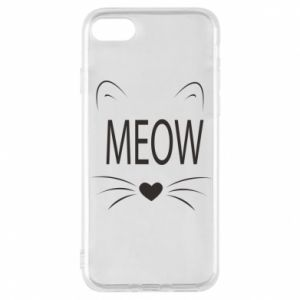 iPhone 8 Case Fluffy Meow