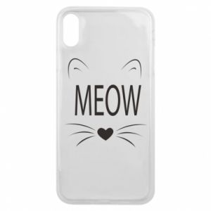 iPhone Xs Max Case Fluffy Meow