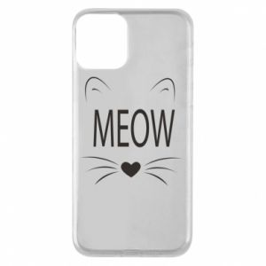 iPhone 11 Case Fluffy Meow