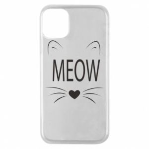 iPhone 11 Pro Case Fluffy Meow