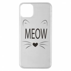 iPhone 11 Pro Max Case Fluffy Meow