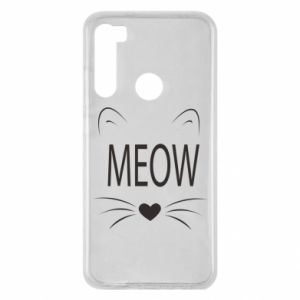 Xiaomi Redmi Note 8 Case Fluffy Meow