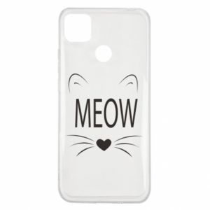 Xiaomi Redmi 9c Case Fluffy Meow