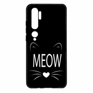 Xiaomi Mi Note 10 Case Fluffy Meow