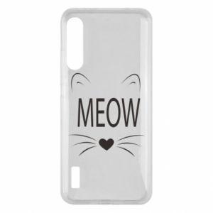 Xiaomi Mi A3 Case Fluffy Meow
