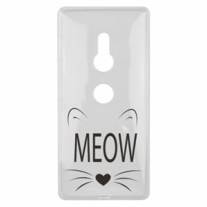 Sony Xperia XZ2 Case Fluffy Meow