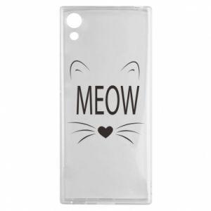 Sony Xperia XA1 Case Fluffy Meow