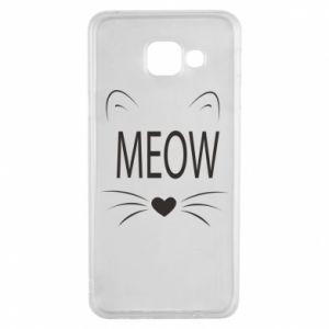 Samsung A3 2016 Case Fluffy Meow