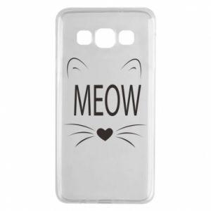Samsung A3 2015 Case Fluffy Meow