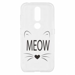 Nokia 4.2 Case Fluffy Meow